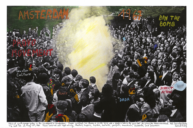 Amsterdam 1967 1968 from the series The Fire of Ideas 2016 Marcelo Brodsky Rolf Art s
